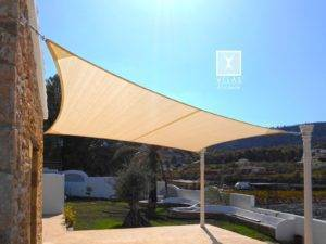 New Shade Sail in Benidorm
