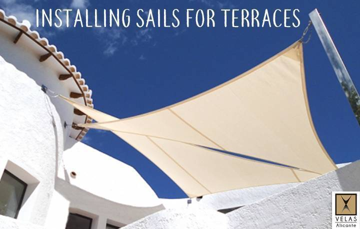 Why put sail awnings for terraces?
