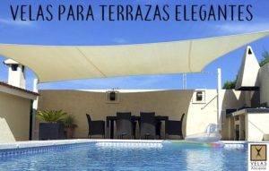 Elegant shade sails for terraces ans patios
