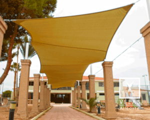 Shade Sails in San Javier