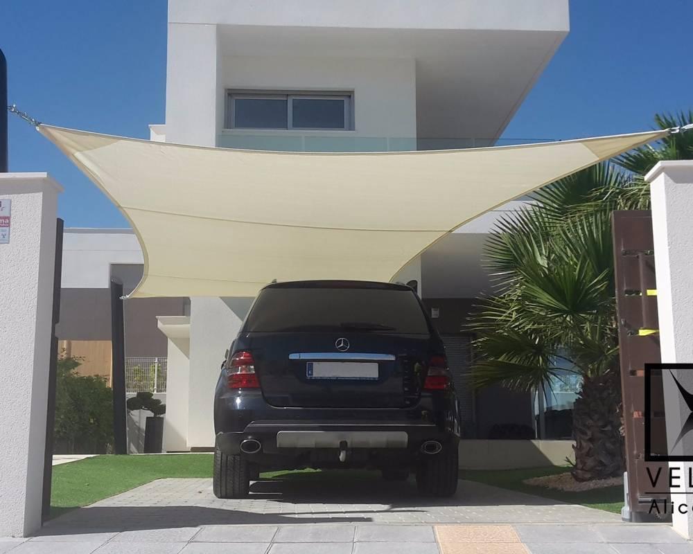 Shade Sail  private house in Alicante