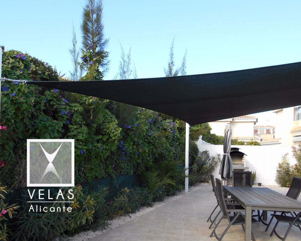 Shade sail in Orihuela Costa